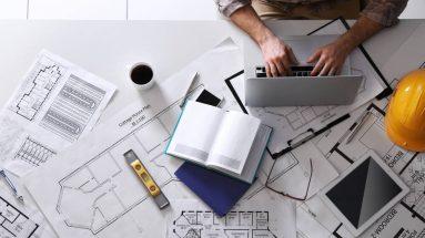 profissional do planejamento de empresas de construção